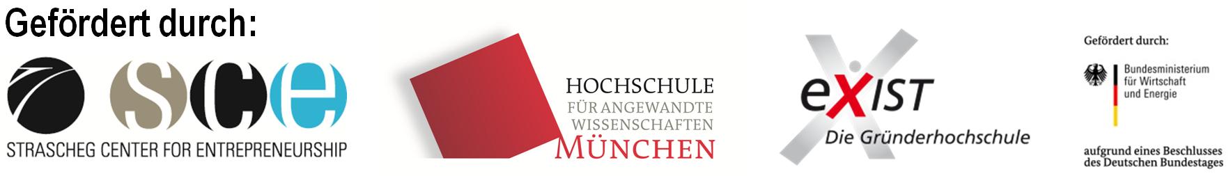 gefördert durch das SCE Strascheg Center for Entrepreneurship an der Hochschule München
